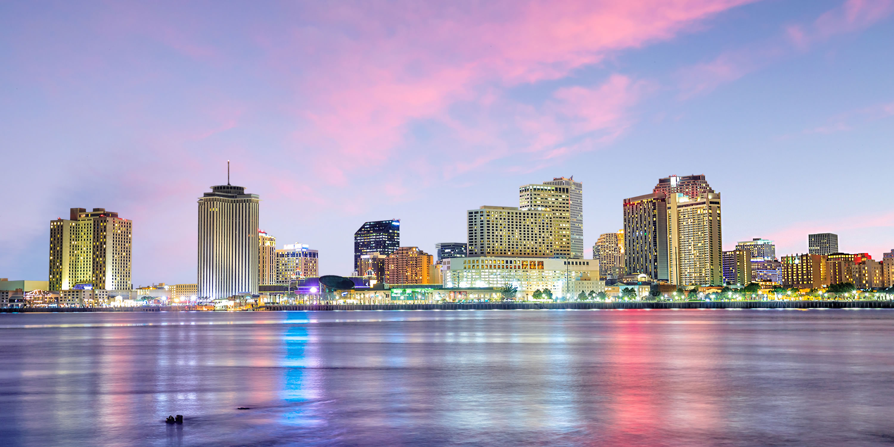 the Hilton New Orleans Riverside in New Orleans, Louisiana